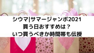 シウマ|サマージャンボ2021買う日おすすめは?いつ買うべきか時間帯も伝授